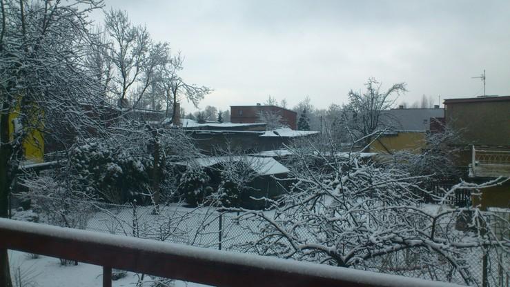 2016-03-15 Zima wróciła. Tak wyglądają okolice Katowic