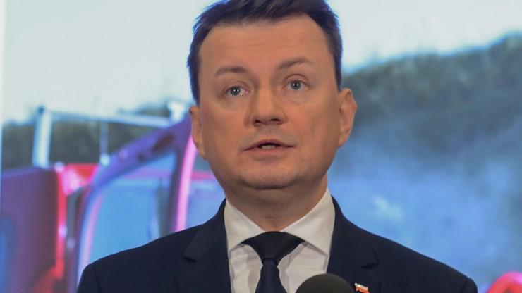 Błaszczak: liczę na wsparcie Węgier ws. decyzji PE