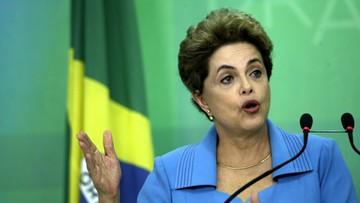 """19-04-2016 05:35 Prezydent Brazylii nie składa broni. """"Jestem ofiarą, będę walczyć"""""""