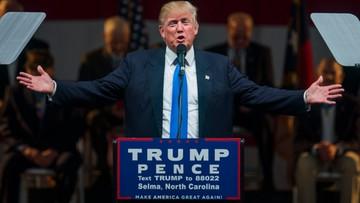 """04-11-2016 21:46 Trump krytykuje rządowy raport o nowych miejscach pracy. """"Nikt w to nie wierzy"""""""