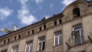 Pożar kamienicy w Łodzi. Ewakuacja, są ranni