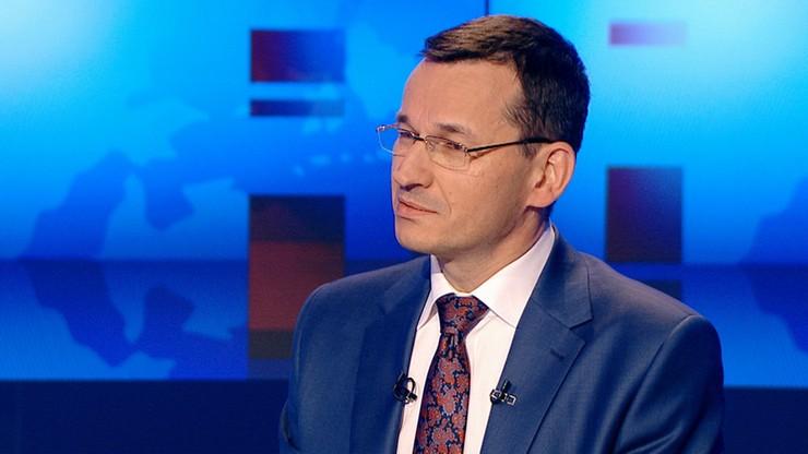 Morawiecki: nie ma żadnych propozycji podniesienia podatków z 19 do 40 proc