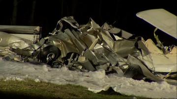 01-04-2016 19:38 Wypadek awionetki pod Pułtuskiem. Dwie osoby nie żyją