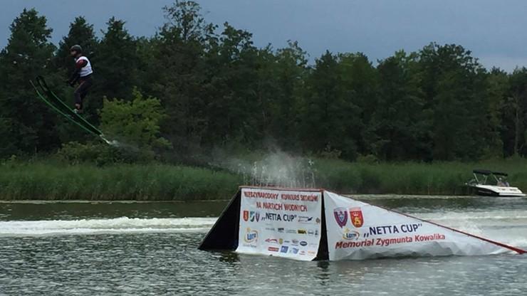 Międzynarodowy konkurs skoków na nartach wodnych w Augustowie