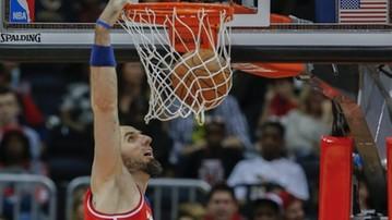 2015-11-26 NBA: Trzecie double-double Gortata, porażka Wizards