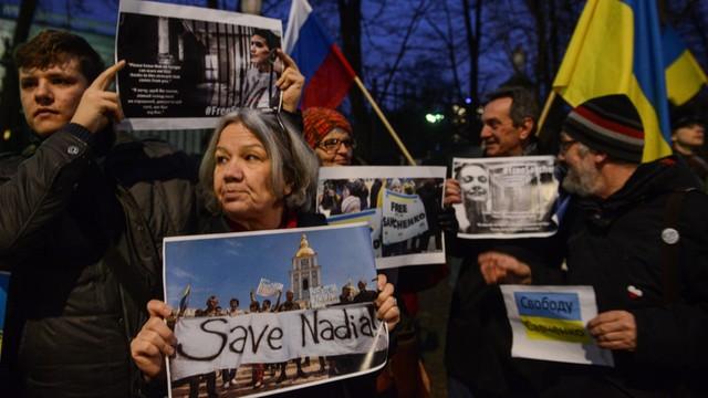 Adwokat Sawczenko: Jej stan jest krytyczny