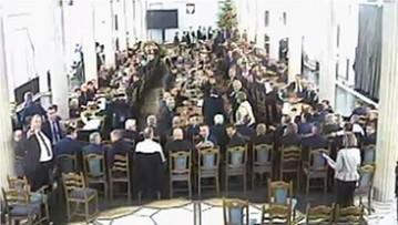 """Umorzono śledztwo ws. obrad Sejmu w Sali Kolumnowej 16 grudnia. """"Miało prawidłowy przebieg"""""""