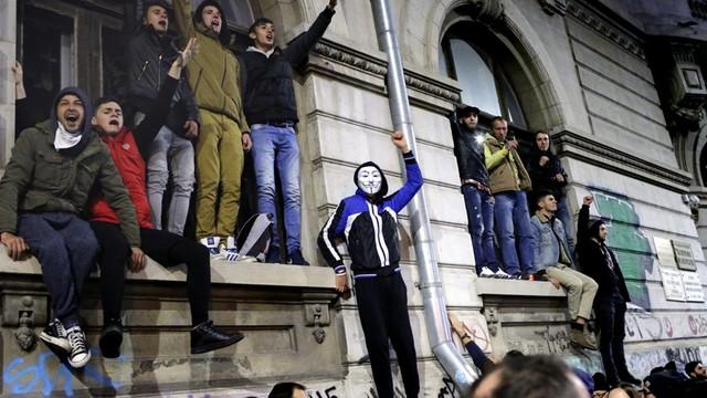 Antyrządowe demonstracje w Rumunii