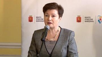 06-09-2017 17:40 Gronkiewicz-Waltz ukarana po raz szósty. 3 tys. zł grzywny za niestawienie się przed komisją weryfikacyjną