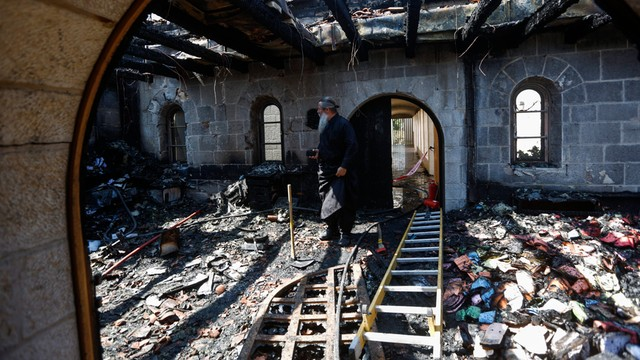 Izrael: 16 osób zatrzymanych ws. podpalenia katolickiego kościoła