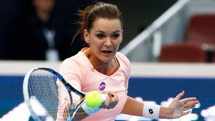 WTA Tiencin: Radwańska w ćwierćfinale, porażka Linette