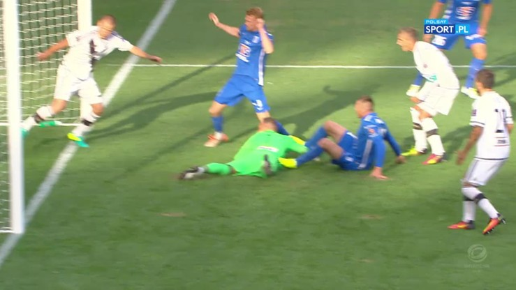 2016-07-07 Legia - Lech 1:2. Gol Nielsena