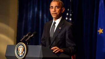 09-07-2016 06:34 Obama skraca wizytę w Europie. Przez wydarzenia w Dallas