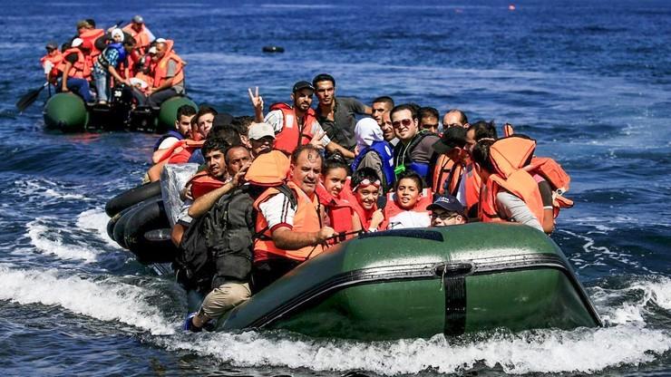 IOM: ponad 100 tys. migrantów przybyło od stycznia morzem do Europy