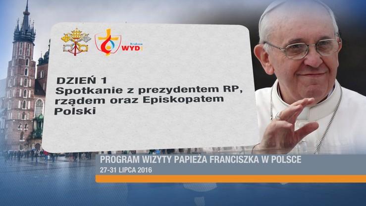 Papież przyleci do Polski 27 lipca