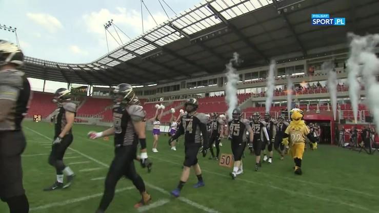 SuperFinał PLFA: Panthers Wrocław - Seahawks Gdynia 55:21. Skrót meczu