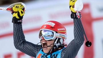 2017-02-24 Alpejski PŚ: Brignone wygrała kombinację, punkty Gąsienicy-Daniel