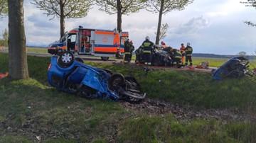 03-05-2016 17:39 Wypadek samochodowy w Nowym Targu. Sześć osób zostało rannych