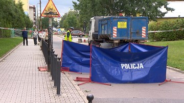 15-07-2016 19:10 Kierowca ciężarówki przejechał 9-latka. Tragiczny wypadek na osiedlu w Łodzi