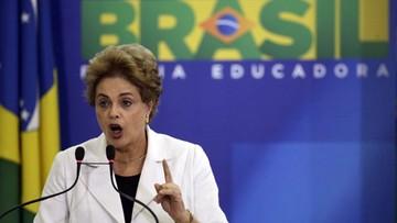 13-04-2016 05:44 Koalicyjny partner D. Rousseff chce jej odsunięcia od władzy