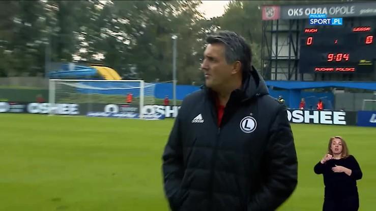 Cezary z Pazurem: Legia Jozaka gra zimny i wyrachowany futbol