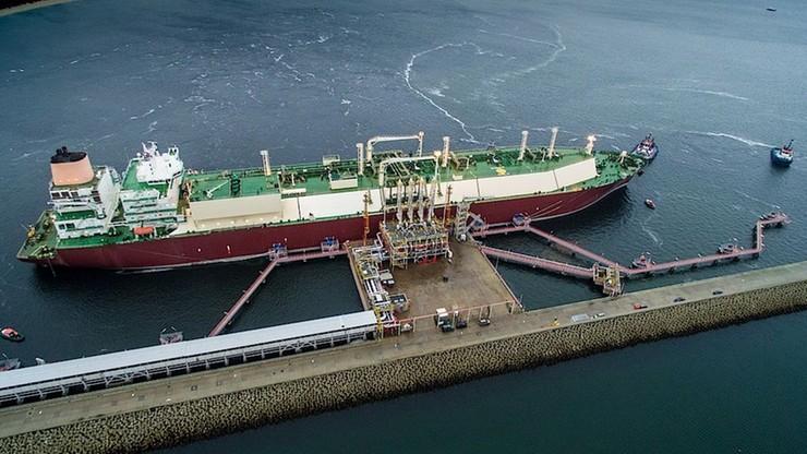 Pierwsza komercyjna dostawa gazu skroplonego do gazoportu