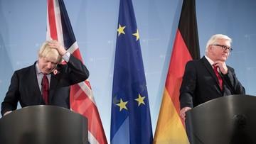 04-11-2016 19:24 Niemcy: szef dyplomacji przestrzega przed opóźnianiem rozmów ws. Brexitu