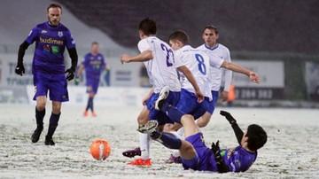 2016-11-09 1 liga: Atak zimy i wygrana Stomilu
