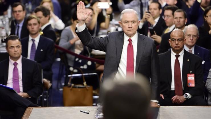 Prokurator generalny USA odpiera zarzuty o współpracy z Rosją
