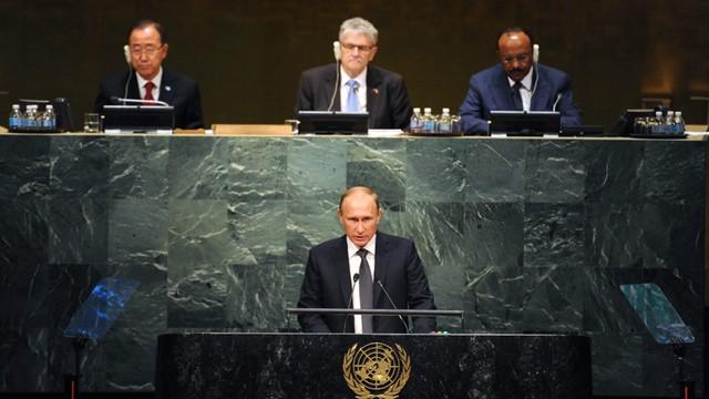 Prezydent Litwy: Przemówienie Putina w ONZ neostalinowskie