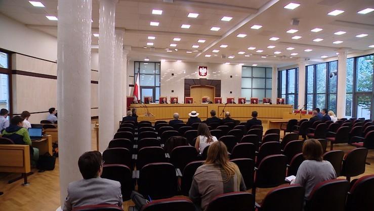 Nowelizacja Prawa o zgromadzeniach zgodna z konstytucją - orzekł TK