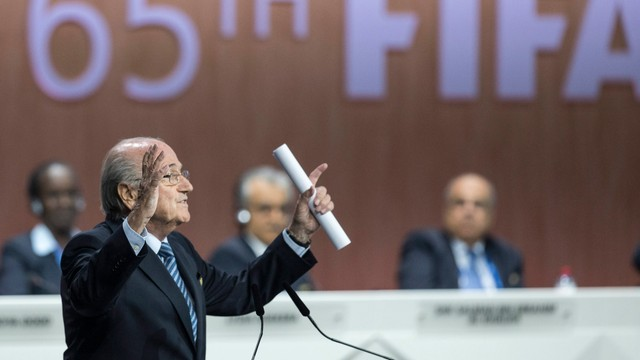 Wybory na szefa FIFA 26 lutego 2016 roku, Blatter nie wystartuje