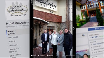 30-05-2017 18:46 ABW i prokuratura badają sprawę noclegów prezydenta w hotelu Belvedere w Zakopanem