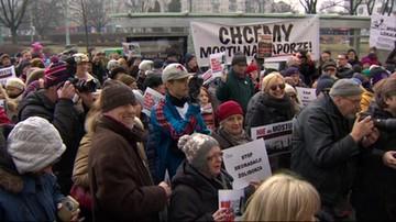 Warszawa: protestują przeciwko budowie nowego mostu