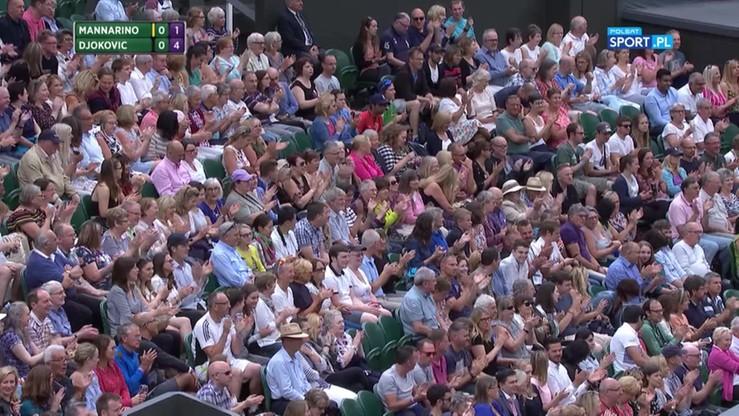 Najładniejsze akcje Wimbledonu - 11.07