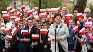 Premier: Polacy to jedna biało-czerwona rodzina
