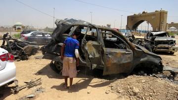 14-07-2016 05:28 Wybuch samochodu pułapki w Bagdadzie. Co najmniej 7 zabitych