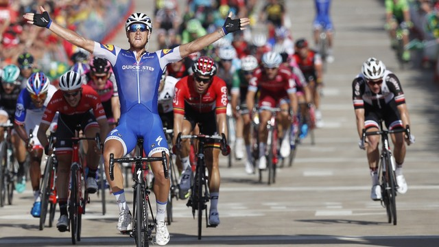 Vuelta a Espana - 4. etap dla Trentina, Froome wciąż na czele