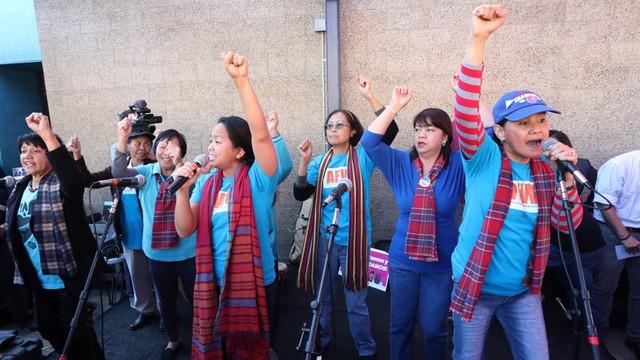 USA: Przybiera na sile ruch obrony imigrantów