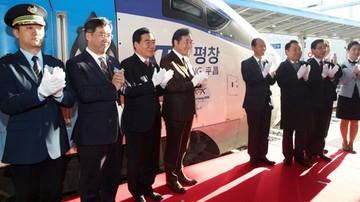 2017-12-22 Pjongczang 2018: Uruchomiony z myślą o igrzyskach pociąg ruszył w trasę