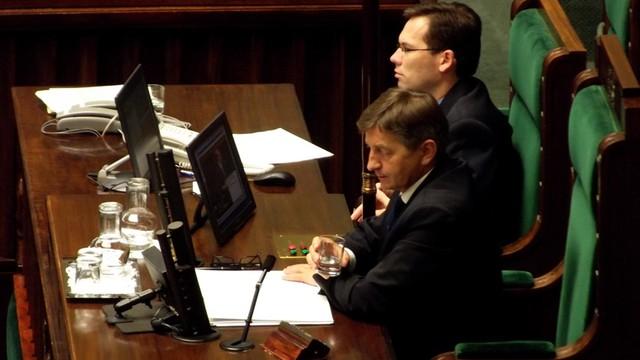 Nieoficjalnie: Marek Kuchciński kandydatem PiS na marszałka Sejmu