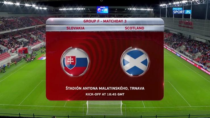 2016-10-12 Słowacja - Szkocja 3:0. Skrót meczu