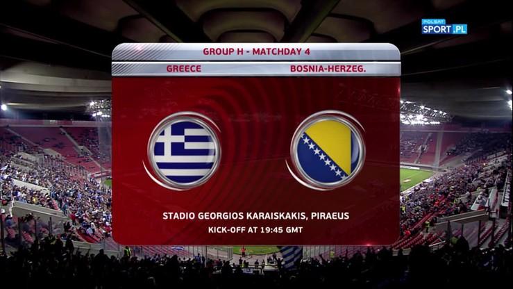 Grecja - Bośnia i Hercegowina 1:1. Skrót meczu