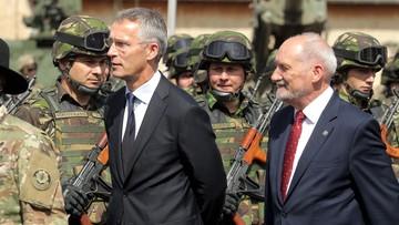 25-08-2017 14:17 Szef NATO: atak na jednego sojusznika spotka się z odpowiedzią wszystkich