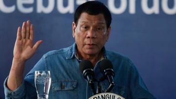 """03-03-2017 19:08 Prezydent Filipin: """"Rosja zapewniła: mamy wszystko, czego potrzebujesz"""""""