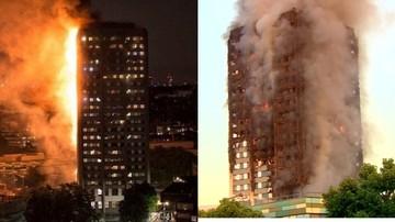 14-06-2017 18:34 Tragiczny bilans pożaru wieżowca w Londynie. Rośnie liczba ofiar