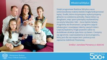 23-08-2016 19:25 Radny PiS w reklamie programu Rodzina 500+