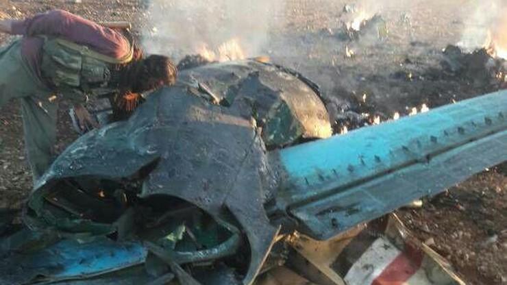 Rebelianci zestrzelili myśliwiec syryjskich wojsk rządowych