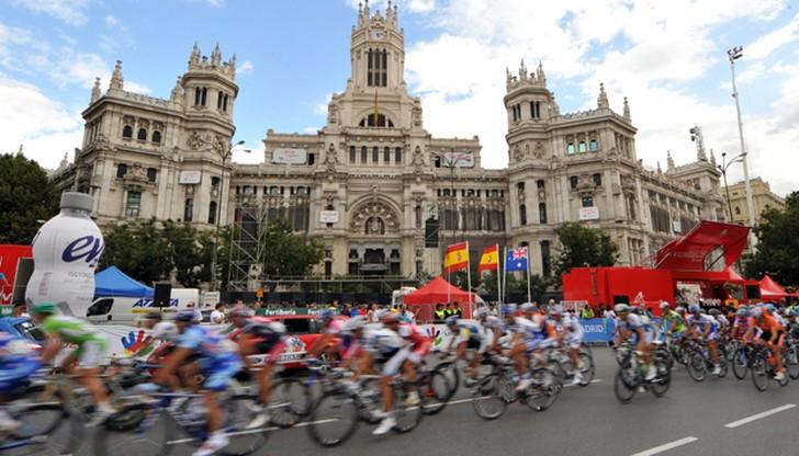 Vuelta a Espana: meta ponownie w Madrycie