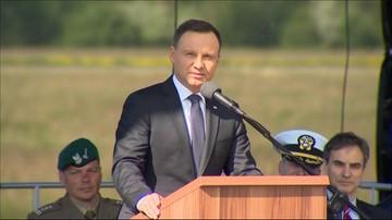 13-05-2016 17:27 Prezydent: pociski w Redzikowie nie będą wymierzone w kogokolwiek